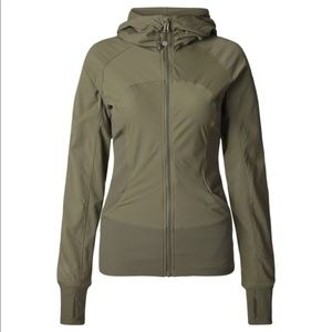 Lululemon Fatigue Green In Flux Jacket